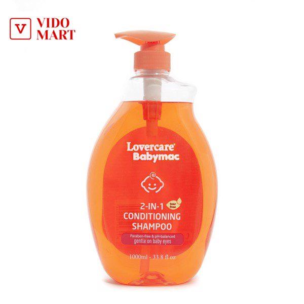 Dầu gội và xả em bé 2 in 1 Babymac Conditioning Shampoo